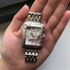 Michele Accessories - Limited Edition pink sapphire Michele watch